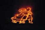 """""""Der gute Hirte"""" - Bergfeuer in Schattwald 2009"""